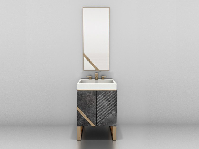 Marble vanity unit with drawers HARMONY | Vanity unit by Visionnaire