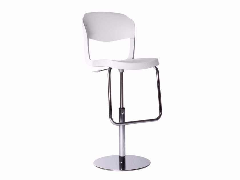 Height-adjustable chair with footrest HAROLD by Italy Dream Design