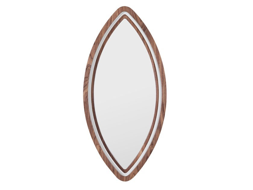 Oval wall-mounted mirror HARPIA by Green Apple