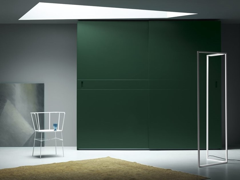 Wardrobe with coplanar doors with sliding doors HARRIET by Md House