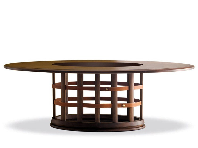 Oval dining table HARRIS - 712005 | Dining table by Grilli