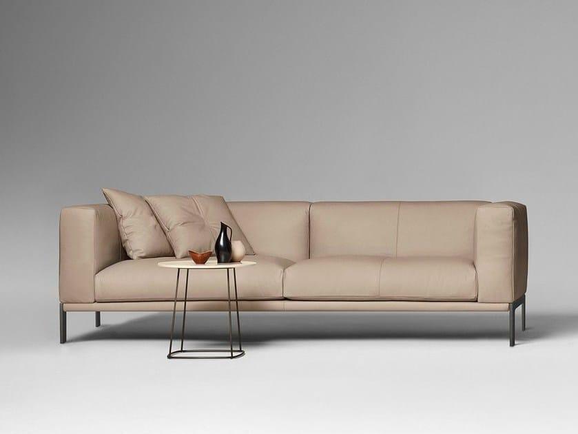 3 seater leather sofa HARVEY by ALIVAR