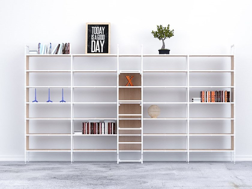 Metal shelving unit HASHTAG MASTER by Treviso Made