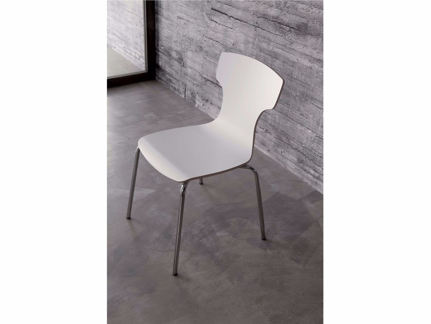 Laminate chair HAT | Laminate chair by Ozzio Italia