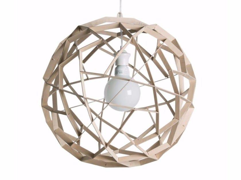 Plywood pendant lamp HAVAS 50 by SHOWROOM Finland