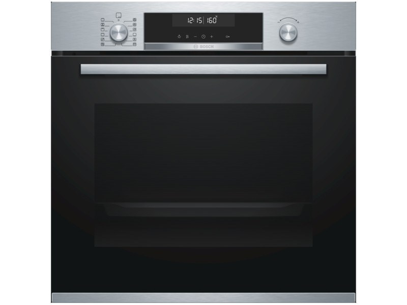 Built-in electric pyrolitic stainless steel oven Class A HBS578BS0 | Oven Class A by BOSCH