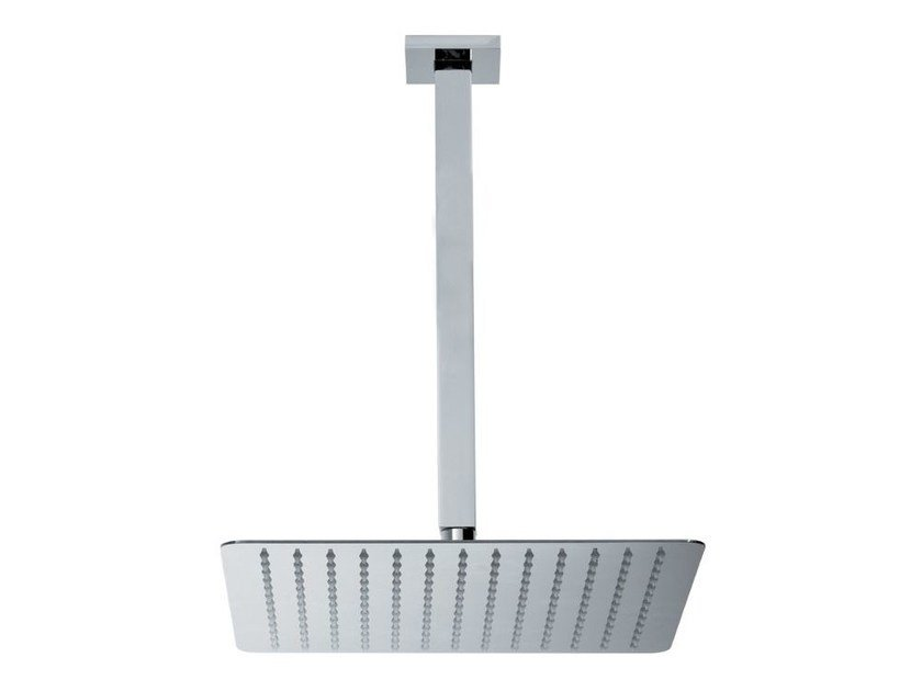Ceiling mounted overhead shower with arm HEAD SHOWERS   Ceiling mounted overhead shower by newform