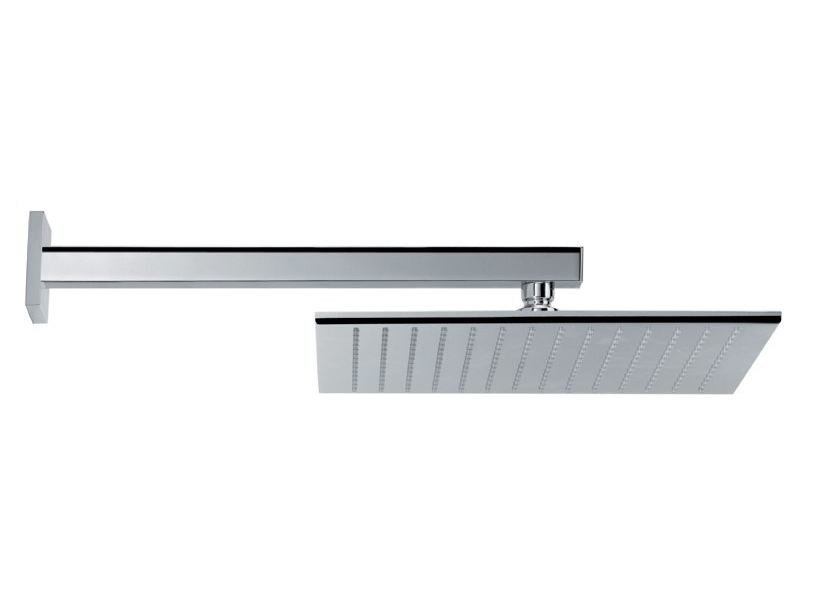 Stainless steel rain shower HEAD SHOWERS | Stainless steel overhead shower by newform