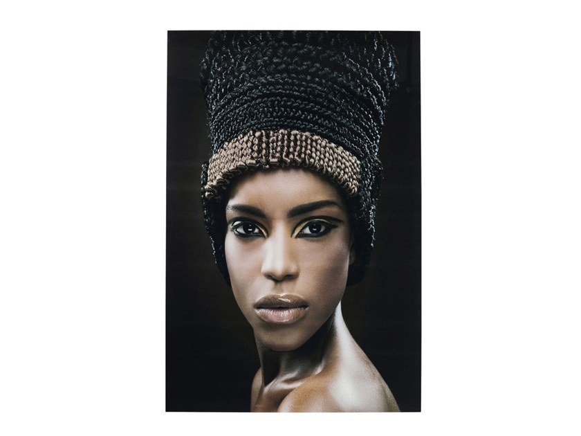 Photographic print HEADDRESS FACE | Photographic print by KARE-DESIGN