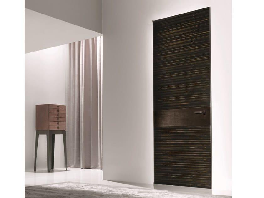 Hinged wooden door HEADLINE | Wooden door by Longhi