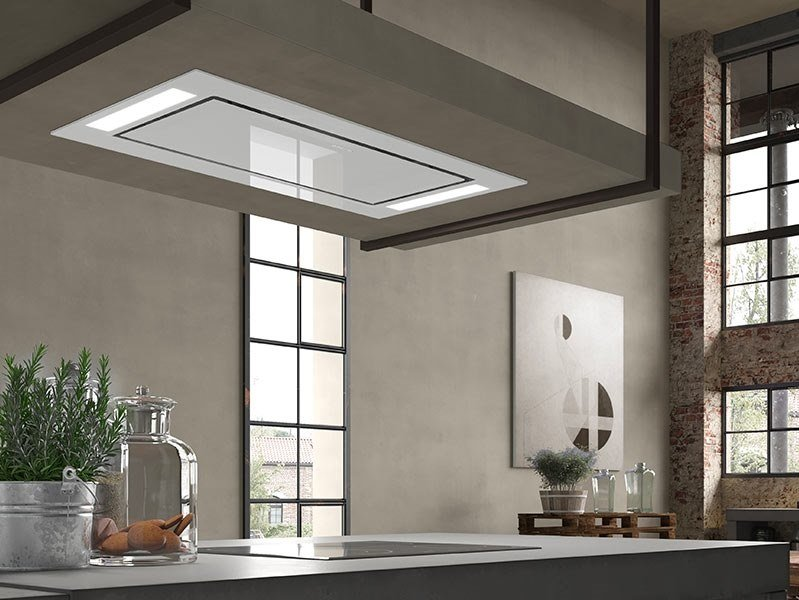 Built-in glass cooker hood HEAVEN GLASS 2.0 FLAT by FABER