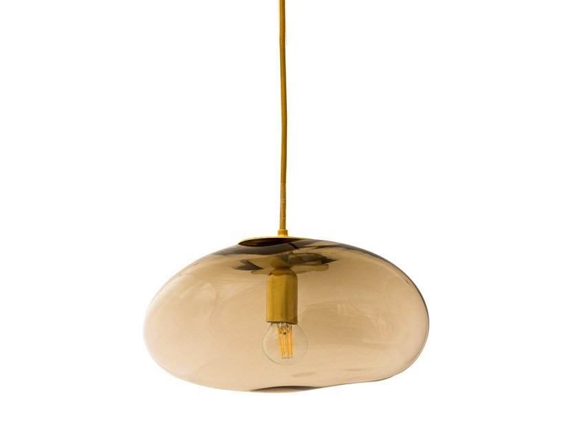 LED blown glass pendant lamp HEBE | Pendant lamp by ELOA