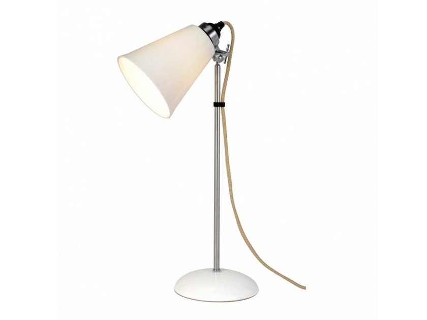 Adjustable porcelain table lamp HECTOR MEDIUM FLOWERPOT | Table lamp by Original BTC