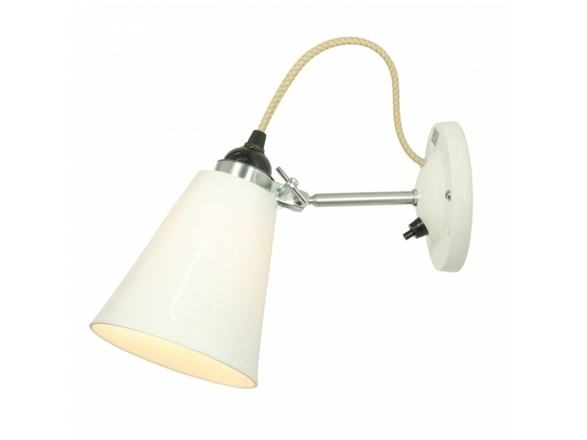 Adjustable porcelain wall lamp HECTOR MEDIUM FLOWERPOT SWITCHED | Wall lamp by Original BTC