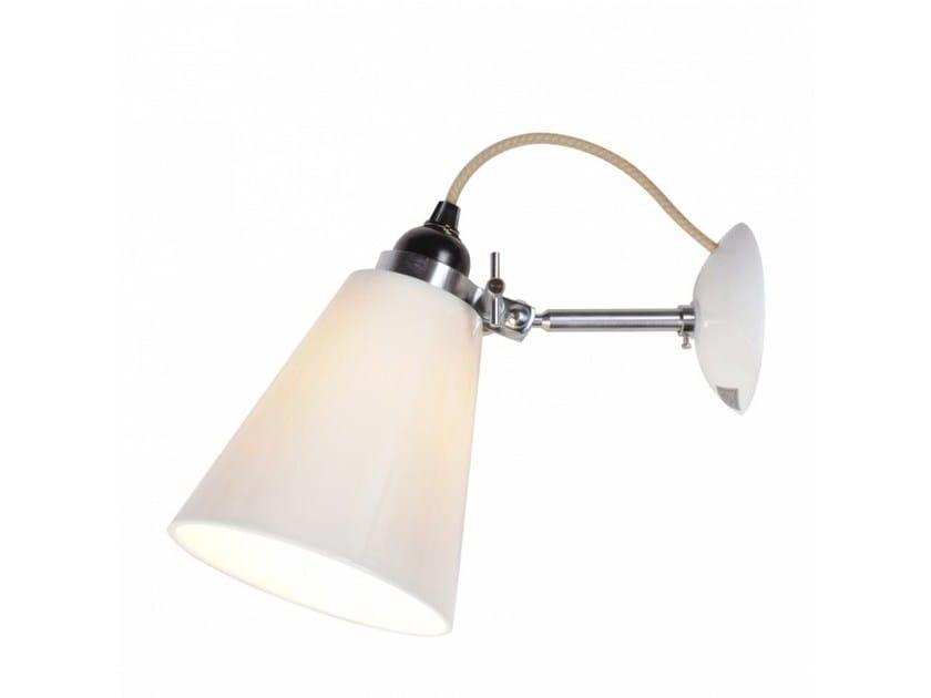 Adjustable porcelain wall lamp HECTOR MEDIUM FLOWERPOT   Wall lamp by Original BTC