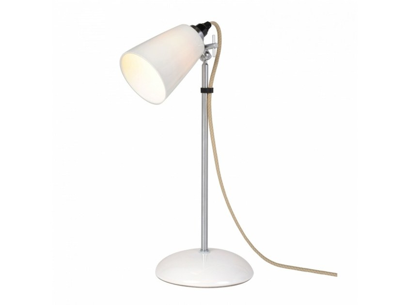 Fluorescent adjustable porcelain table lamp HECTOR SMALL FLOWERPOT | Table lamp by Original BTC
