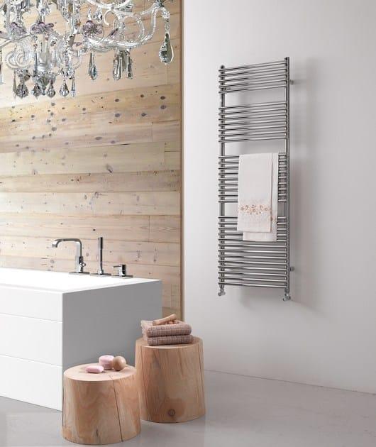 Design steel towel warmer HEGO 23 by DELTACALOR