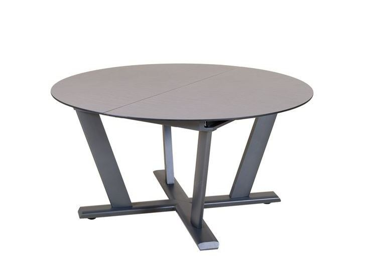 Extending Round HPL Table HEGOA | Extending Table By Les Jardins