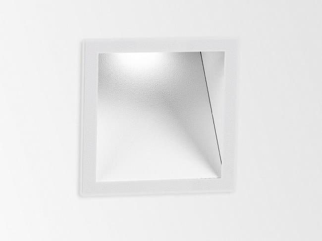 Segnapasso a LED a parete HELI 1 SCREEN by Delta Light