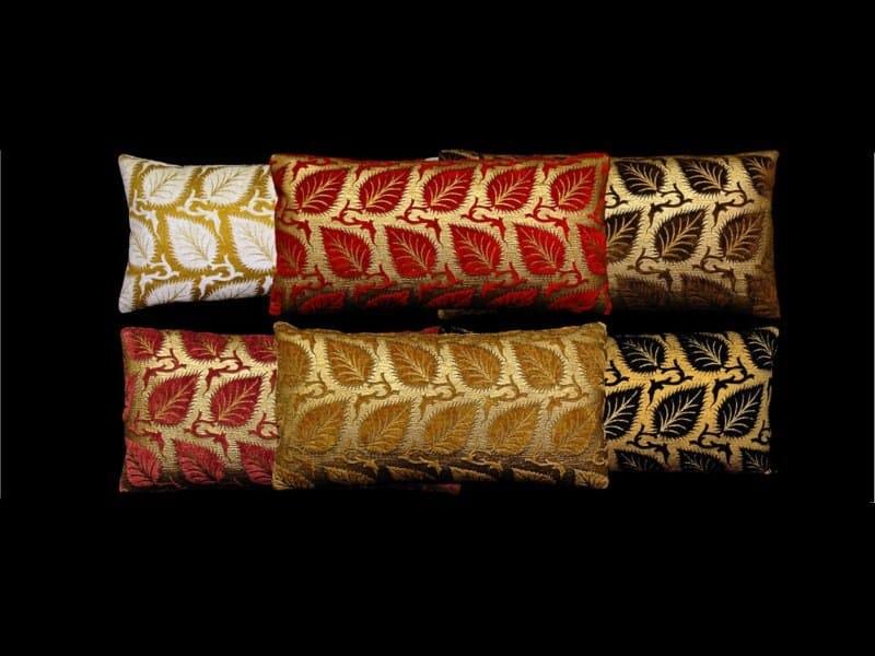 Rectangular velvet cushion HELIANTHUS | Rectangular cushion by Venetia Studium