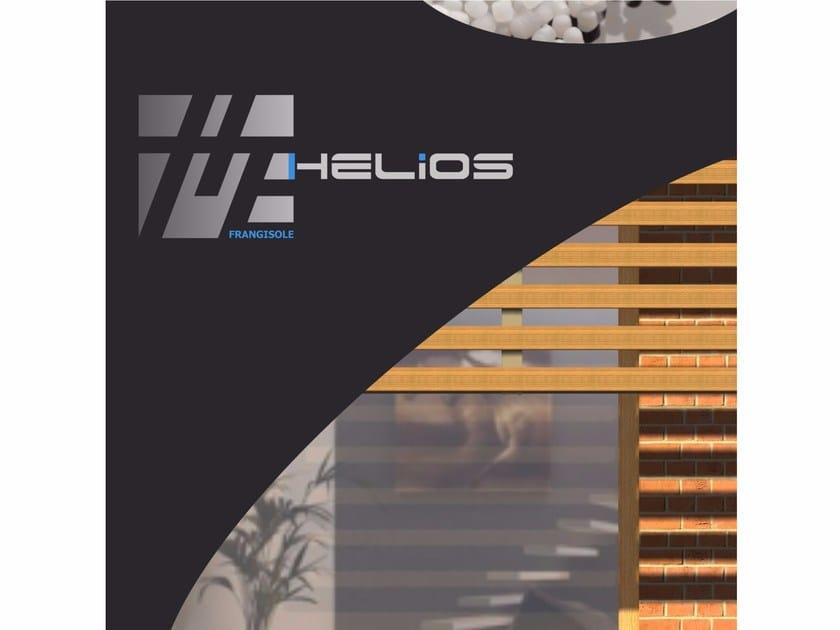 Wooden solar shading HELIOS by GARBARINI