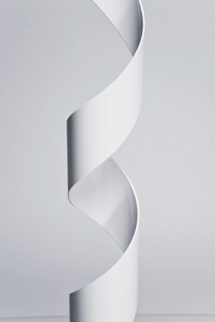 Da Indiretta White Terra Lampada Kare A In Pvc Luce design Helix SMVpGUzq