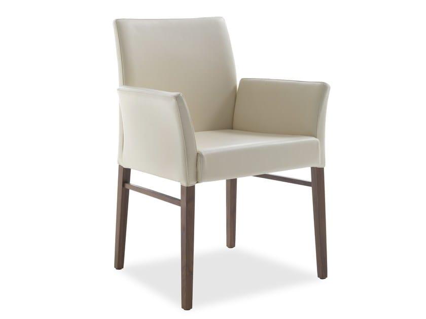 Sedia Imbottita Con Braccioli : Hellen sedia con braccioli collezione hellen by riva design