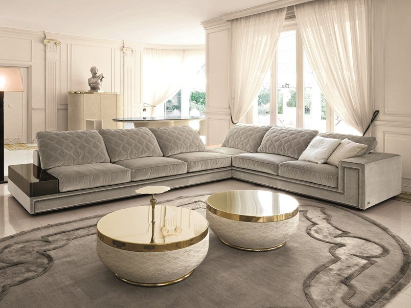 HELMUT | Sectional sofa Loveluxe Collection By Longhi ...