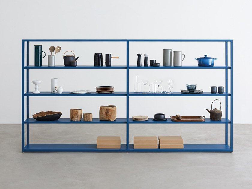 Open sectional bookcase HELSINKI   Bookcase by Desalto