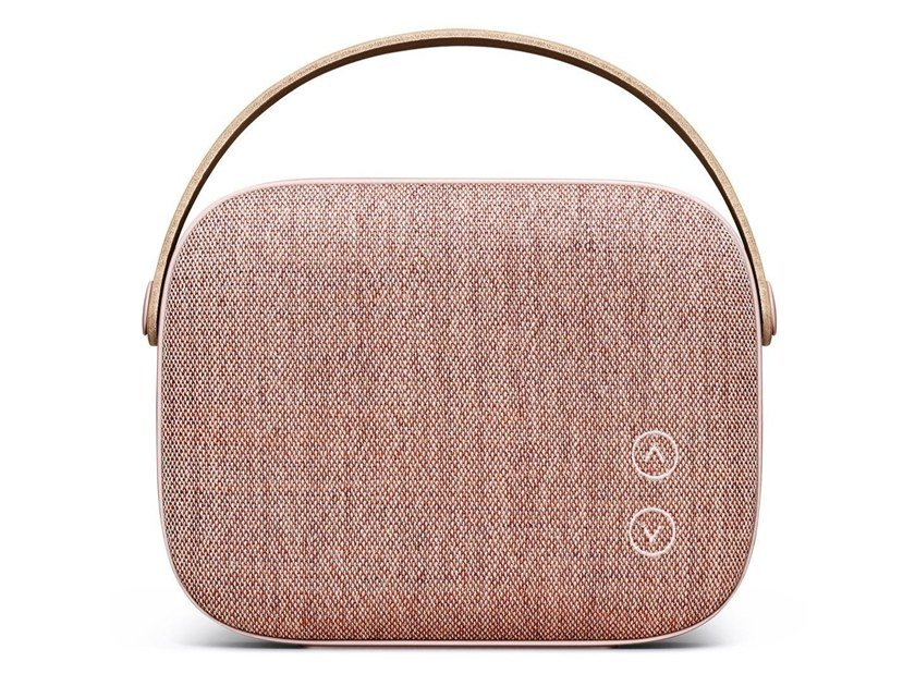 Diffusore acustico Bluetooth portatile HELSINKI DUSTY ROSE by Vifa