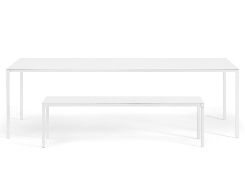 Rectangular garden table HELSINKI | Garden table by Desalto