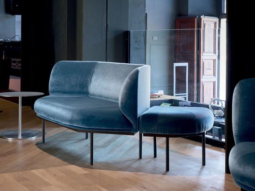 Modular fabric sofa HENDRICK by Quinti Sedute