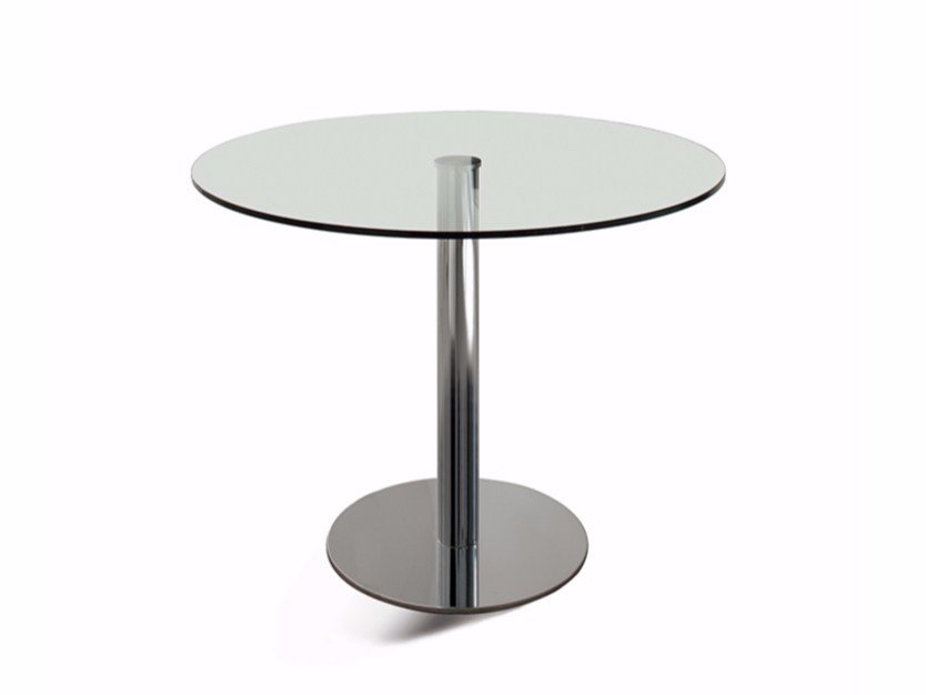 Round crystal table HENRY by Cattelan Italia