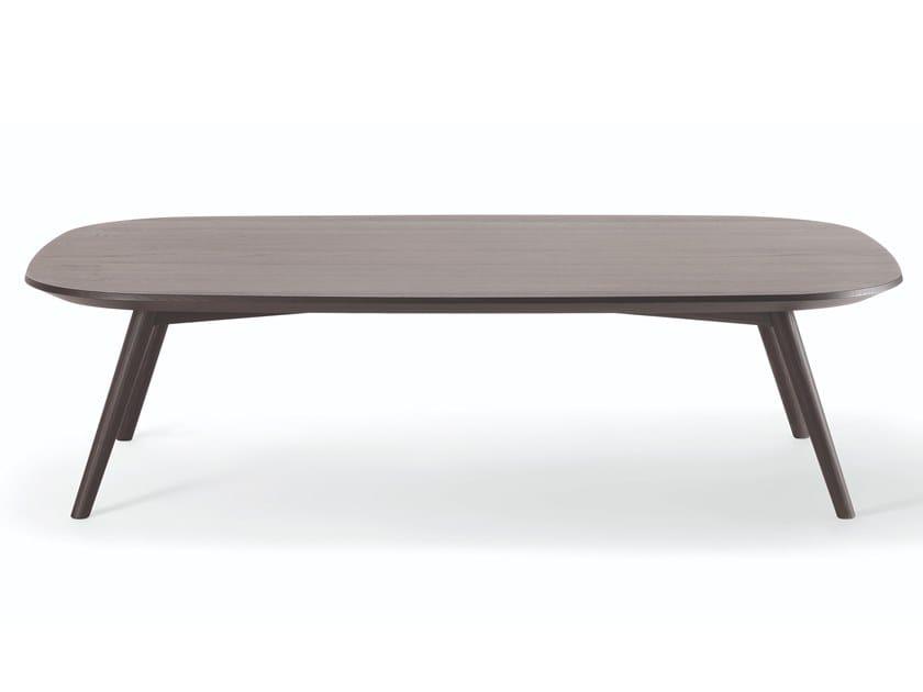 Rectangular solid wood coffee table HER COFFEE TABLE | Rectangular coffee table by Verti