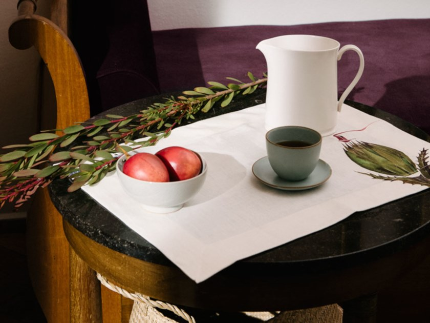 Breakfast set (6 placemats + 6 napkins) HERBIS | Placemat by The NapKing