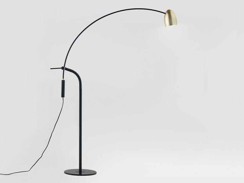 Arc lamp with dimmer HERCULES | Arc lamp by Aromas del Campo