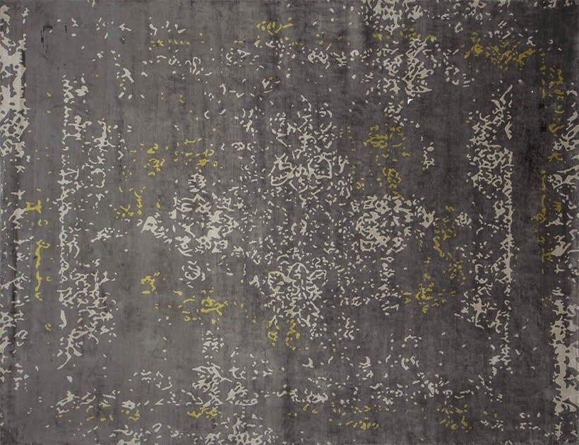 Handmade rectangular custom rug HERITAGE ANIS by EDITION BOUGAINVILLE