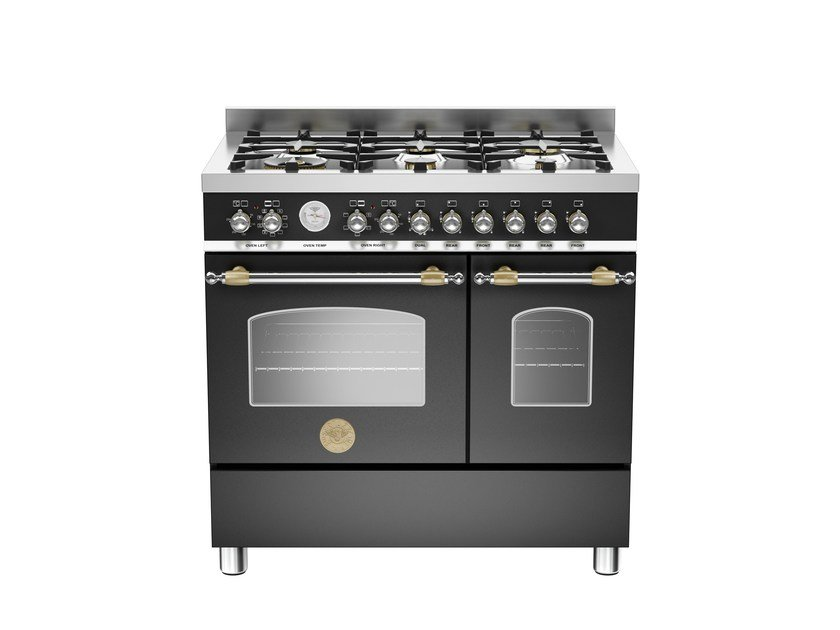 Professional cooker HERITAGE - HER90 6 MFE D by Bertazzoni