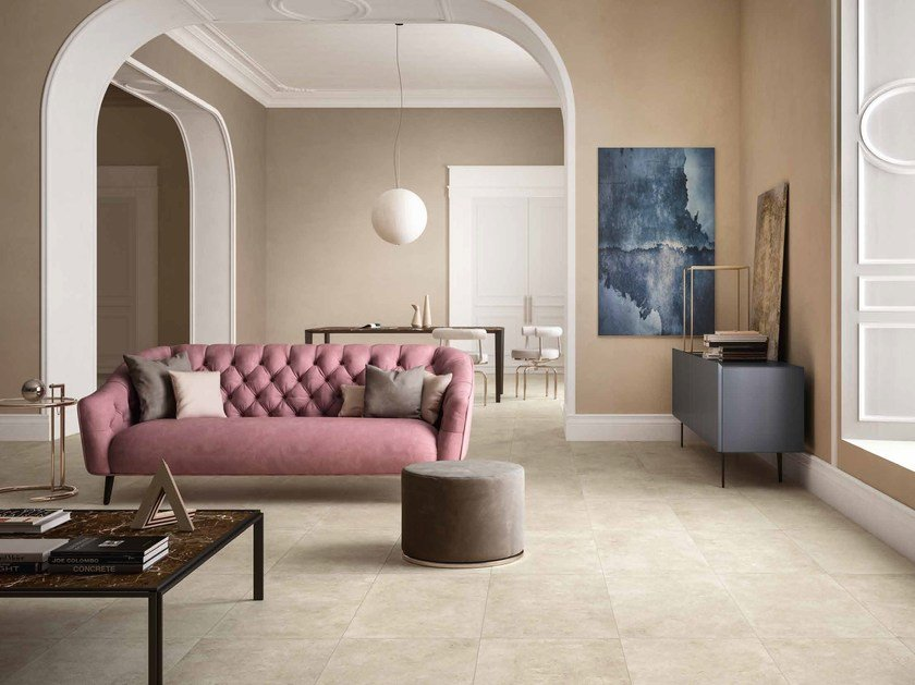 Porcelain stoneware wall/floor tiles with stone effect HERITAGE by Ceramiche Refin