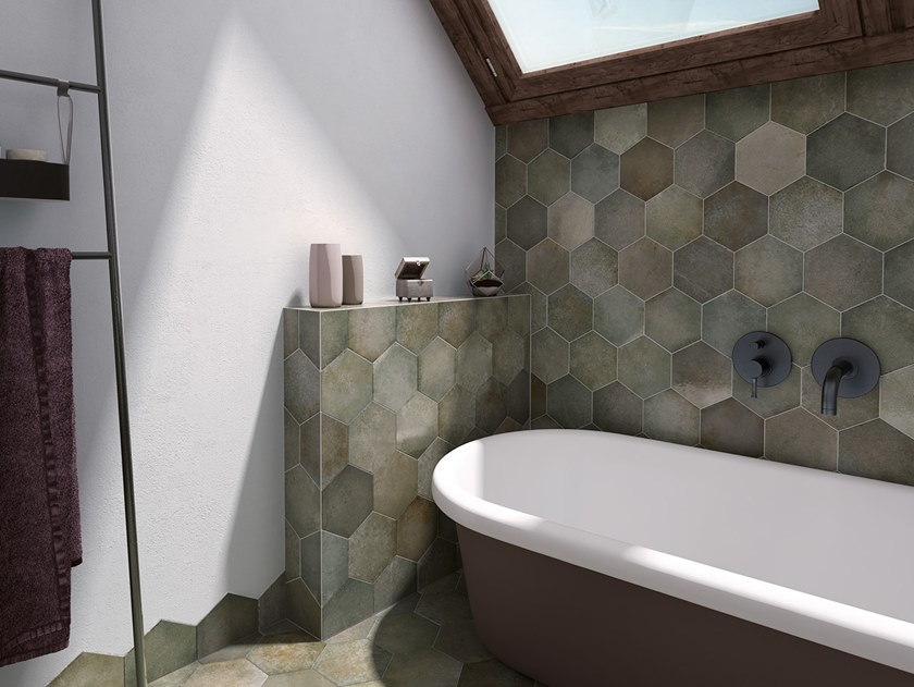 Porcelain stoneware wall/floor tiles with stone effect HERITAGE by EQUIPE CERAMICAS