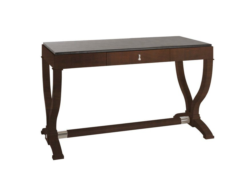 Wooden writing desk with drawers HERITAGE J.S. by SELVA