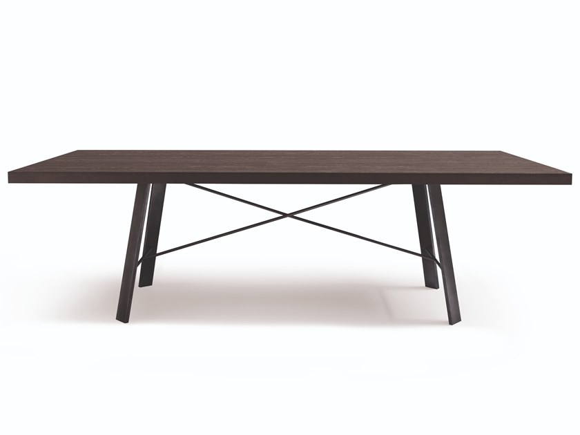 Rectangular table HERMITAGE by Busnelli