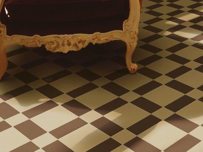 Indoor/outdoor full-body porcelain stoneware flooring HEX - 15X15 by ETRURIA design