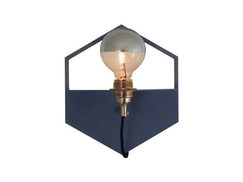 Metal wall light HEXA by Aromas del Campo