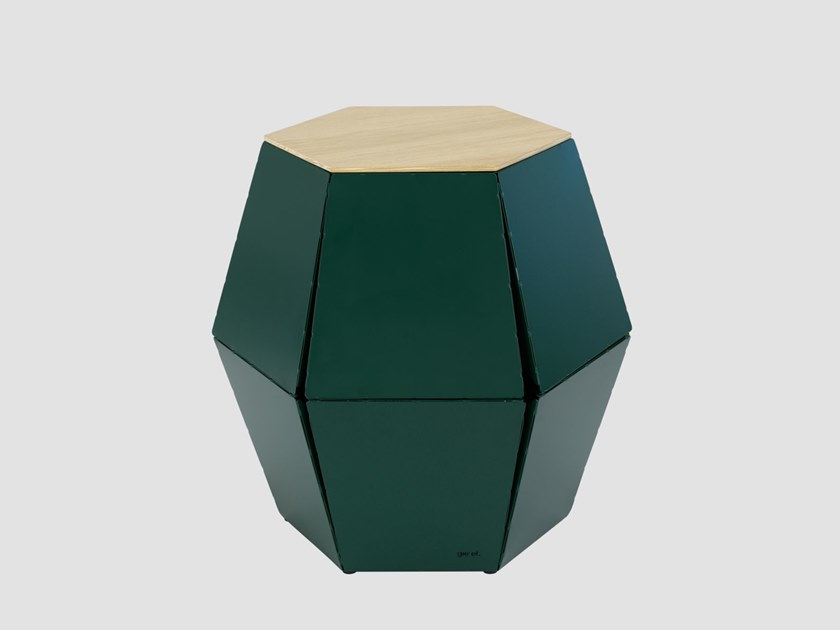 Hexagonal steel coffee table for living room HEXA I by Gie El Home