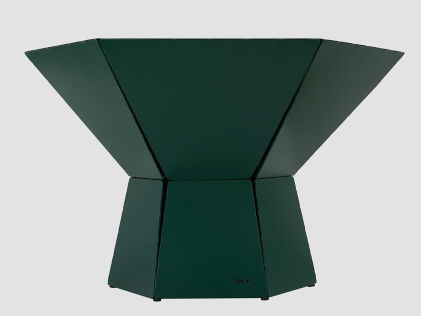 Hexagonal steel coffee table HEXA IV by Gie El Home