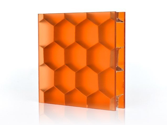 Composite material prefabricated wall panel HEXABEN™ by Bencore®