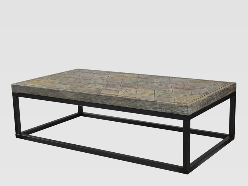 Rectangular coffee table for living room HEXAGON A by Gie El Home
