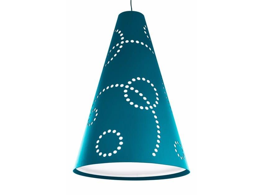 Felt pendant lamp HEY-LIGHT STAMP by HEY-SIGN