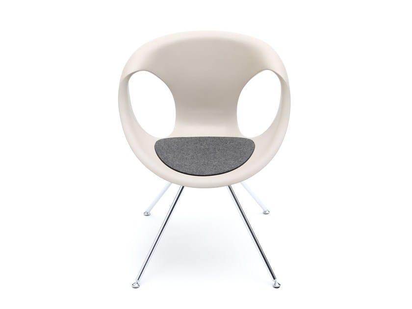 Felt chair cushion UP CHAIR by HEY-SIGN